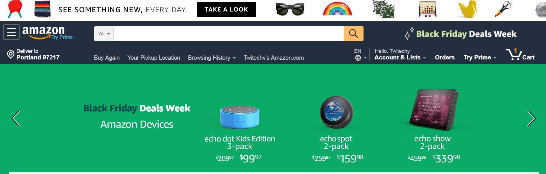 Amazon in Ghana