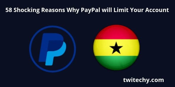 PayPal limitation image