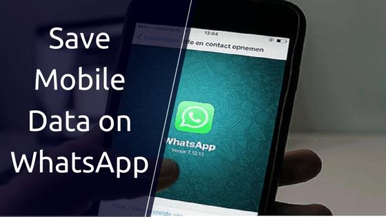 WhatsApp using too much data
